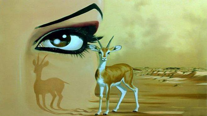 قصة-قصيدة..-عيون-المها